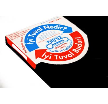 Siyah Tuval 50x50