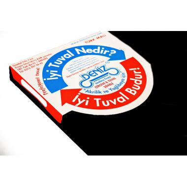 Siyah Tuval 40x40